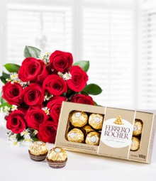 Colombian Roses and Chocolates